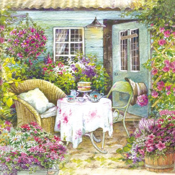 A garden seat