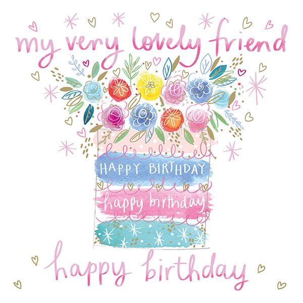 A very lovely birthday