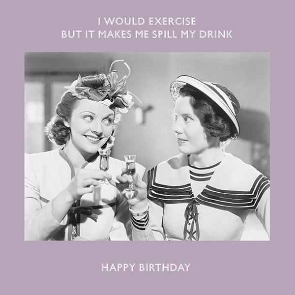 Avoiding exercise