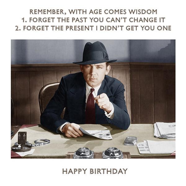 Birthday wisdom