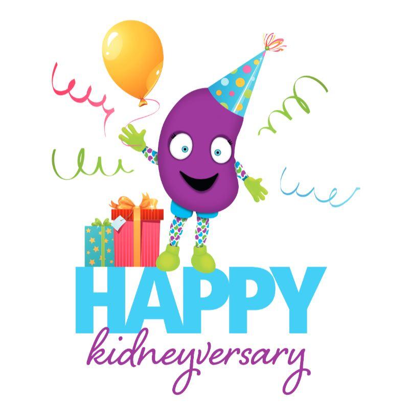 Kidneyversary card