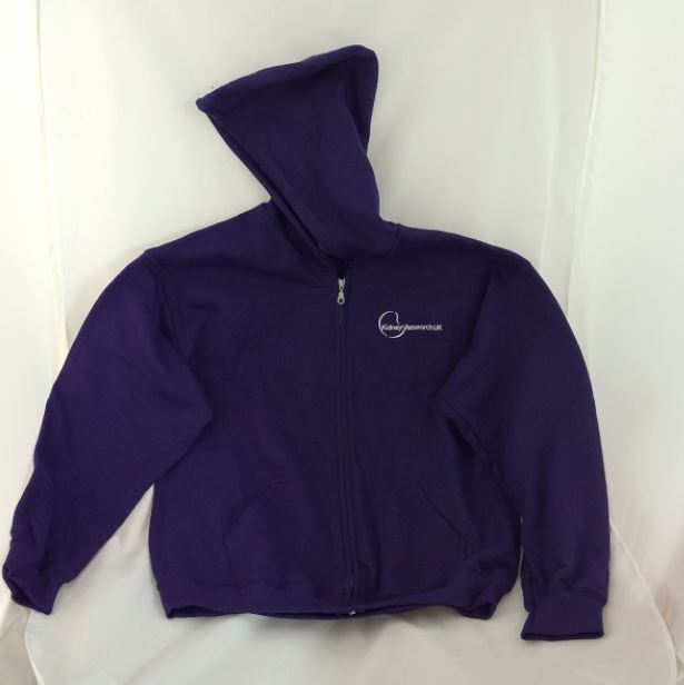 Kidney Research UK Zipped Hoodie